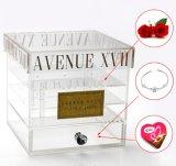 أكريليكيّ زهرة صندوق مع عامة علامة تجاريّة لأنّ [فرش فلوور] أو يحفظ زهرة