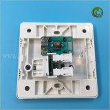 TV&Tel Socket multifonction prise murale en plastique blanc de socket socket Prise electrique prise carrée