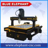 中国からの回転式装置とのCNCのルーター機械Ele1324 4軸線