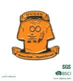 BSCIの工場金属のクラフトのトラの動物のバッジホールダー