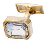 Cristal VAGULA Gemelos Jóias Punhos 526