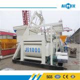 Js1000 (1m3) Misturador De Betão Twin Shaft