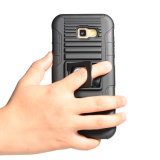 3 dans 1 cas de téléphone Heavy Duty béquille robuste ARMOR couvrir pour Samsung A7 2017