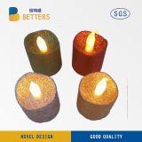 Cubierta colorida sin llama plástica del LED Tealight para la Navidad decorativa Holloween