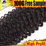 Волосы Weave ранга 9A бразильские курчавые от Kbl