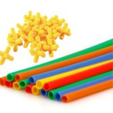 黄色いカラー赤いカラープラスチック微粒のマスタ・バッチ