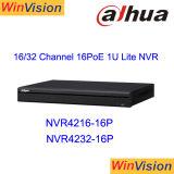 CCTV NVR del magnetoscopio della rete di Dahua NVR4232-16p 32CH Poe
