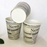 taza de café de papel caliente de un sólo recinto 8oz