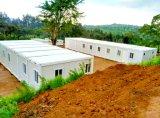 Huis van de Container van de verkoop het Beweegbare Gecombineerde Prefab met Toilet & Badkamers