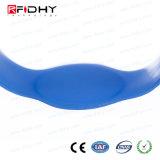 体操のための柔らかい防水Ntag203チップRFID PVC/Siliconeリスト・ストラップ