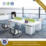 (HX-NJ5120) Partición moderna de la oficina de personal de los asientos del cuadro 4 de la oficina