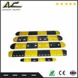 Fabrik-Großverkauf Yellow&Black Verkehrssicherheit-Gummigeschwindigkeits-Buckel