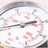 Mètre de pression frigorifié par cas normal de fer
