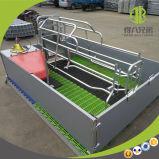 Altos embalajes de parto galvanizados Strengh de los cerdos para la puerca