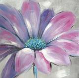 Het bloemen Olieverfschilderij Van uitstekende kwaliteit van het Kunstwerk van het Beeld van de Muur Met de hand gemaakte