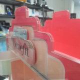 OEM / ODM 2-sided Rotation affichage cosmétiques en acrylique, de haute qualité de la Chine à l'acrylique fabricant de l'Organiseur de maquillage