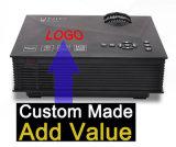 주문품 UC46 영사기 1200lm 3D LED WiFi 영사기 지원 800 x 480 Dlna AV USB HDMI VGA SD 소형 홈 비디오
