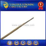 Fil à hautes températures de fibre de verre de mica de cuivre nickelé d'UL5107 27%