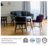Los muebles simples del hotel del estilo con el sofá del sitio de la base fijaron (YB-G-4)