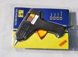 Черный пистолет для нанесения клея-расплава с электроприводом 20W для вклеивания стекол
