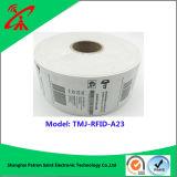Frecuencia ultraelevada RFID Stcker para la etiqueta de la frecuencia ultraelevada RFID de la ropa
