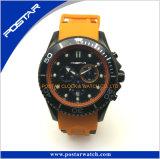 Het Horloge van het Silicone van het Horloge van de Sport van het roestvrij staal