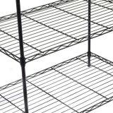 Les 5 rangées universelles noircissent la crémaillère de faible puissance enduite de mémoire de fil de four microondes à cuisine en métal