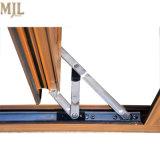 최신 판매에 의하여 이중 유리로 끼워지는 알루미늄 입히는 목제 단 하나 여닫이 창 Windows