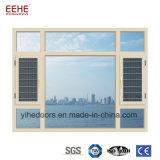 Finestra di alluminio di vendita calda con stoffa per tendine di vetro vuota Windows