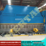 Гибочная машина стальной плиты Wc67y гидровлическая