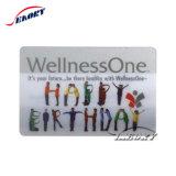 Высокое качество индивидуального 4c печать четких прозрачный ПВХ Business Card