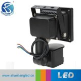 10W 20W 30W 50W屋外LED Projector/LEDの洪水ライトPIRセンサー