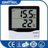 Higrómetro relativo à promoção do termômetro de Digitas do indicador de Digitas grande LCD