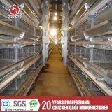 Cage de poulet de matériel de volaille avec l'agriculture de câbles d'alimentation et de buveurs de volaille