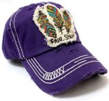 عالة عصريّة يغسل رقعة تطريز علامة تجاريّة قبعات
