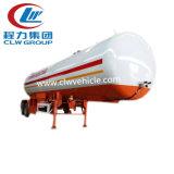 3 반 차축 40cbm 20ton 수송 화학 액체 트레일러