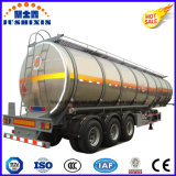 Reboques para a venda, reboque do petroleiro do petróleo do caminhão, petroleiro de alumínio 35000-60000L do combustível