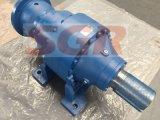Fabricante de alta calidad en línea recta pie Planetaty montado el motor y caja de engranajes reductor de engranajes, motor de engranajes