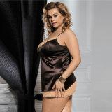 Biancheria calda sexy di nuovo arrivo più la bamboletta di formato per le donne grasse