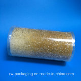 Cadre en plastique transparent de cylindre pour l'empaquetage d'ampoule de bougie