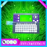 Geläufiger Druckknopf-Metallabdeckung-Silber-Pasten-Membranschalter-Tastaturblock/Tastatur