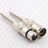 Weibchen des Metall3 Pin-XLR/männlicher Verbinder für Mic-Mikrofon-Kabel mit Sprung