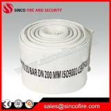 Tubo flessibile dell'idrante antincendio della tela di canapa da 8 pollici con il rivestimento materiale del PVC
