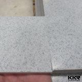 Superfície contínua acrílica modificada da textura pedra artificial de mármore