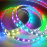 Striscia di Digitahi 5050 Epistar RGB Ws2812 LED con Ce Cettificate