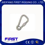 Cornière oblique/crochet instantané avec l'oeil et la vis/galvanisation électrique/acier inoxydable AISI 304&316