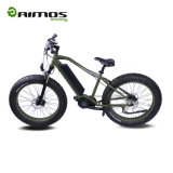 Bici elettrica nascosta azionamento grasso della gomma della batteria 17.5ah Bafang ultra 48V 1000W del METÀ DI