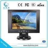 9,7 polegadas LCD Mini Square com Monitor de ecrã VGA/AV/Entrada BNC