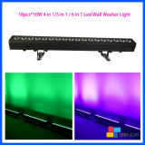 Stade Pixel DMX Equitment 18PCS*10W Projecteur mural LED