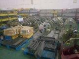 하늘색 또는 황록색 철사 Buncher Strander 비틀어진 사람 기계 직경 630mm 다발-로 만드는 기계